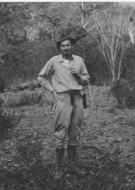 DBG - Dan in the wilds of Venezuela - 1939