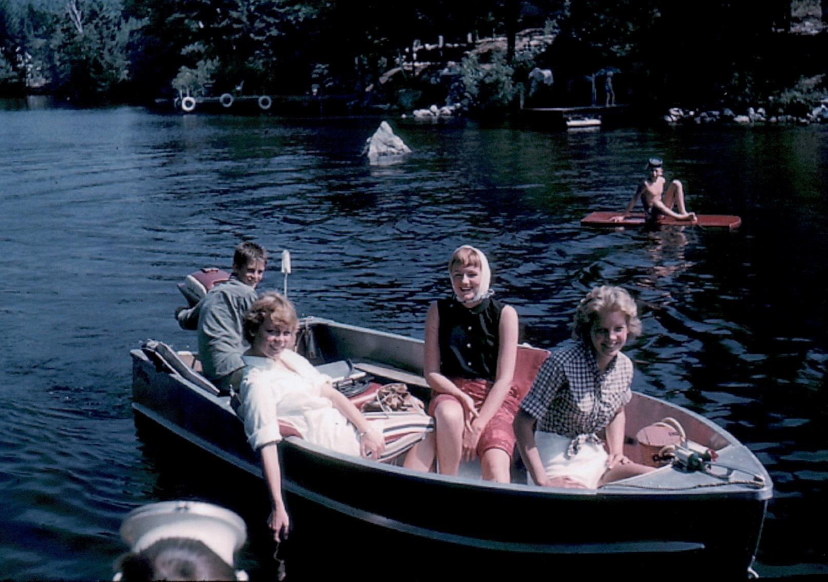 Spring Island - Greg Guion, Nancy Hayden, Susie Linsley, Judy Guion @ 1960s - (Lad)