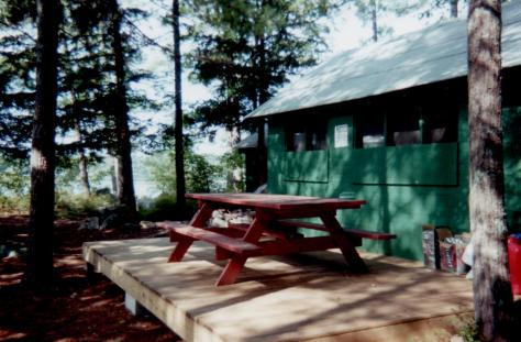 Spring Island - platform for Cook Cabin addition (Judy)