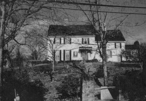 Trumbull House - from the front, showing the steps to the Front door