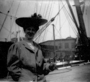 ADG - Elsie before sailing - old negative