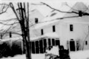 Trumbull House in winter - (cropped) - 1940