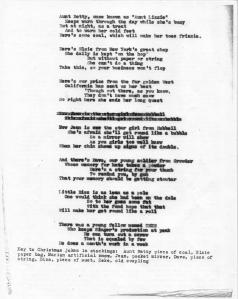 ADG - Poem About Christmas Stocking Gifts - Dec. 1944