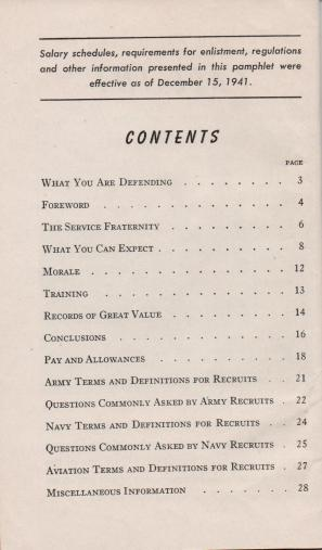 APG - FALL IN - May 14, 1942 (Contents)