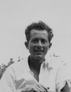 DBG - Dan (cropped) fron Ced, Dan and car - 1941