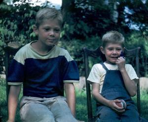 EWGZ - Butch and Marty Zabel - 1950
