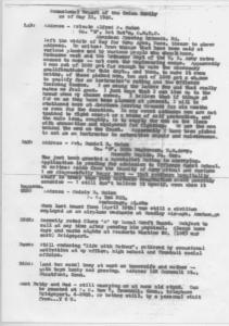 ADG - Occasional Report of the Guion Family as of May 31, 1942.