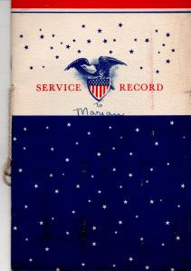 APG - Lad's Service Record Booklet
