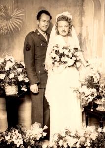 Daniel & Paulette's wedding - 1945