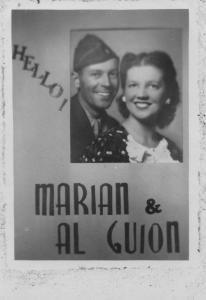 APG - Christmas card - 1945