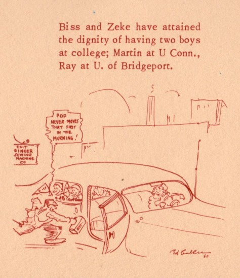 ADG - 1960 Christmas Card - Biss and Zeke