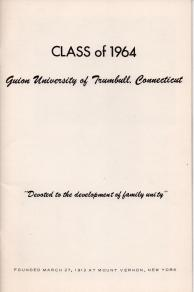 ADG - 1964 Christmas Card - inside cover