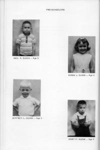 ADG - 1964 Christmas Card - pg. 19 - Gary, Robin, Jeffand Neil