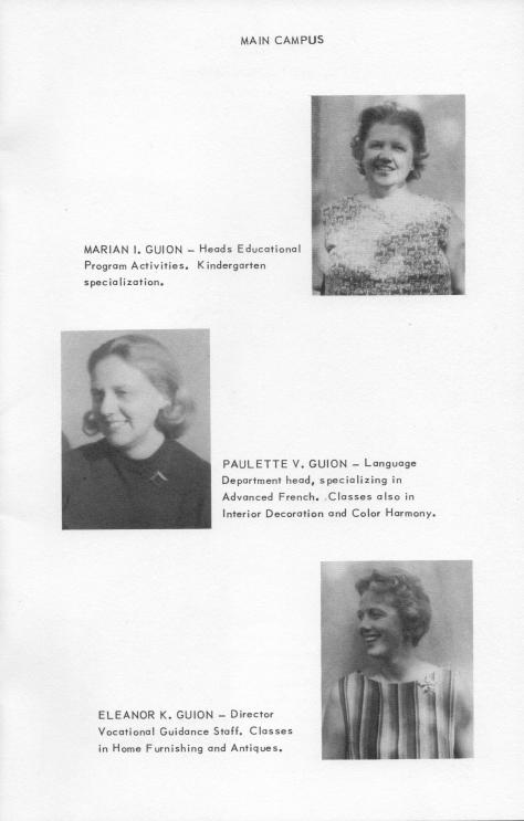 ADG - 1964 Christmas Card - pg. 4 - Marian, Chiche and Ellie