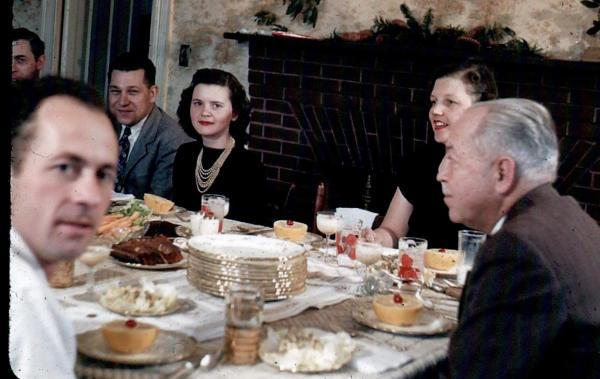 APG - 1947 Christmas - Dan and Grandpa
