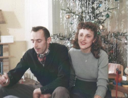 APG - 1947 Christmas - Dick and Jean