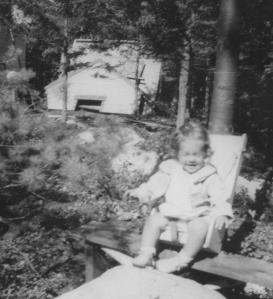 APG - 1949 picture of Lynn on the Island