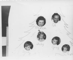 APG - 1952 Christmas card - reject # 1