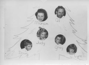 APG - 1952 Christmas card - the one they chose