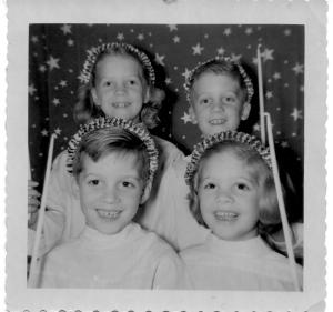 APG - 1954 Christmas card picture
