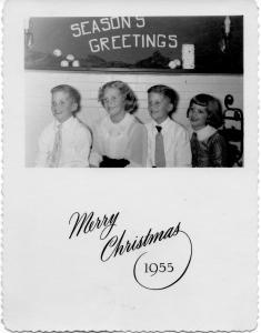 APG - 1955 Christmas card