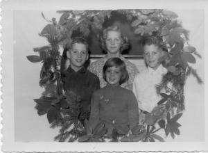 APG - 1957 Christmas card picture