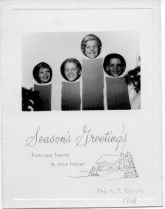 APG - 1958 Christmas Card