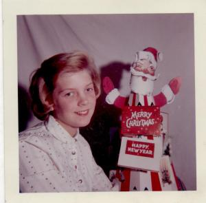 APG - 1960 Christmas card - Individual shot of Judy