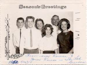 APG - 1962 Christmas Card
