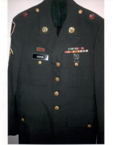 APG - Lad's Army Uniform jacket - front view