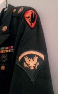 APG - Lad's Army uniform - left sleeve