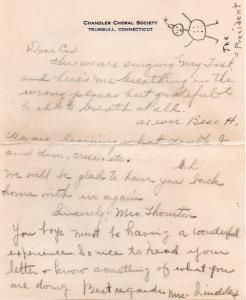 CDG - Valentine letter from Chandler Chorus - Feb., 1941 - page 5