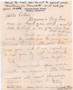 CDG - Valentine letter from the Chandler Chorus - Feb., 1941 - page 3