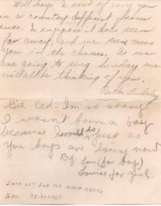 CDG - Valentine letter from the Chandler Chorus - Feb., 1941 - page 4