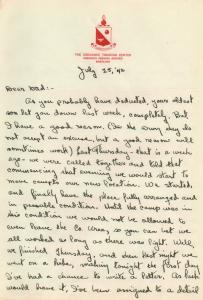 APG - Letter from Aberdeen - Fighting With Mosquitoes - July, 1942