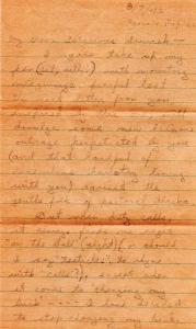DBG - My Poor Salacioius Sewach - Dan to Ced - Aug., 1942