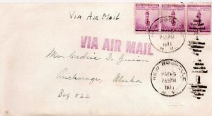 CDG - Grandma's envelope (front) letter to Ced - May, 1941