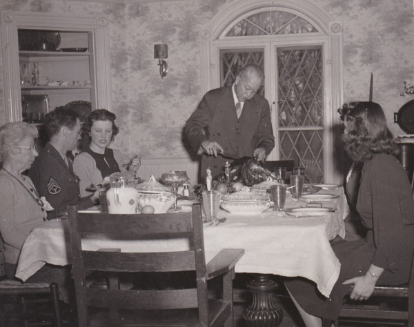 ADG - Trumbull House Thanksgiving - 1945 (2)