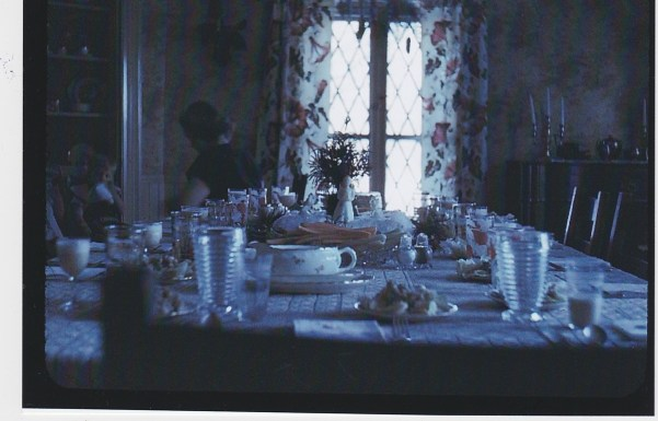 Trumbull House - Living Room Door - Christmas, 1947