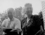 ADG - Grandpa and Aunt Elsie on porch, 1946