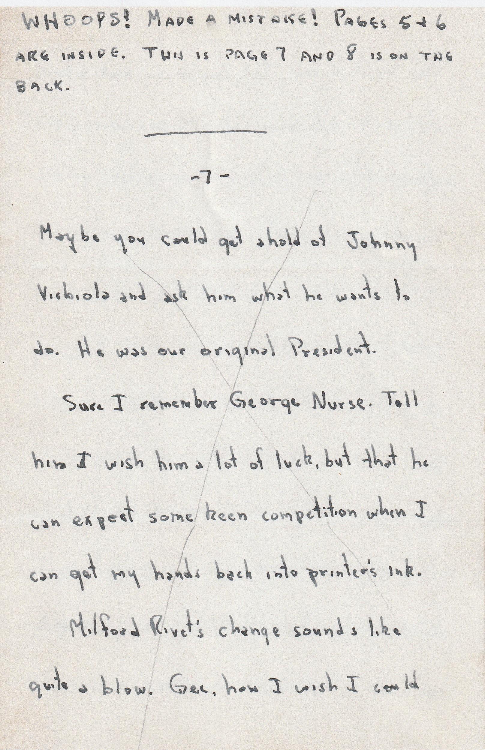World War II Army Adventure (119) Dear Dad (2) - January 11, 1946