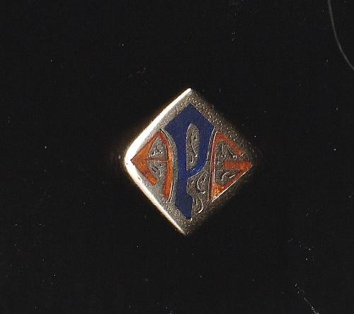 APG - Gold Monogrammed Ring